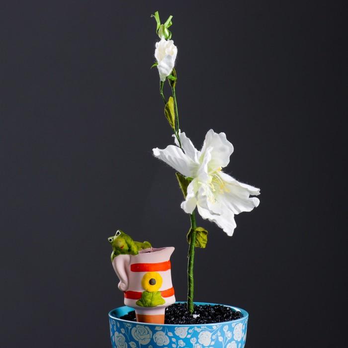 """Ороситель для домашних растений """"Лягушка на лейке"""" микс 4 вида"""