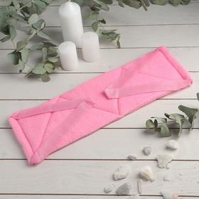 """Мочалка банная """"Розовая пантера"""", жёстко-мягкая"""