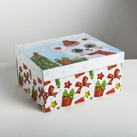 Складная коробка «Радости и веселья», 31,2 × 25,6 × 16,1 см