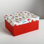 Складная коробка «Новогодняя», 30 × 24.5 × 15 см