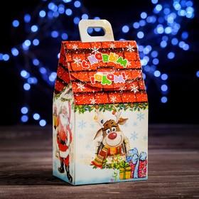 "A cardboard box ""In a fairy tale"", 9.1 x 7 x 15.7 cm"