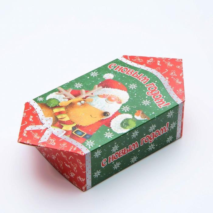 """Коробка картонная """"Дед Мороз"""", конфета, 11 х 5,5 х 20 см - фото 308276116"""