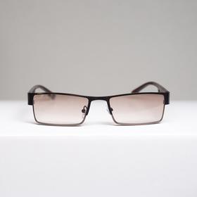 Очки корригирующие 336, цвет коричневый, тонированные, -3