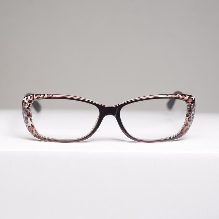 Очки корригирующие B 86012, цвет коричневый, +1