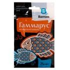 Корм для рыб и черепах Barrom Гаммарус измельченный, 25 г
