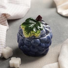 Сахарница «Виноградинка», 7,5×8 см