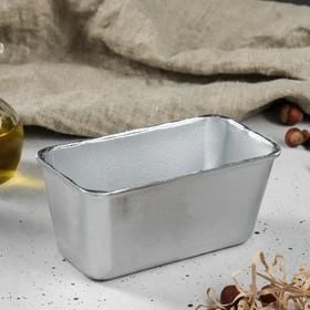"""Форма для выпечки хлеба """"Мини"""", 17х9х7 см, литой алюминий"""
