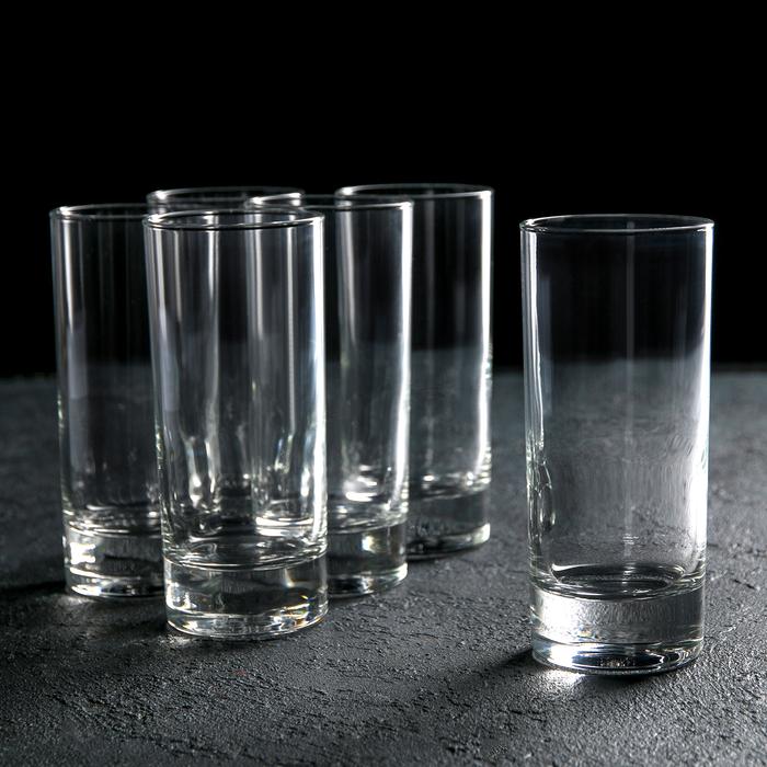 Набор стаканов высоких 290 мл Island, 6 шт