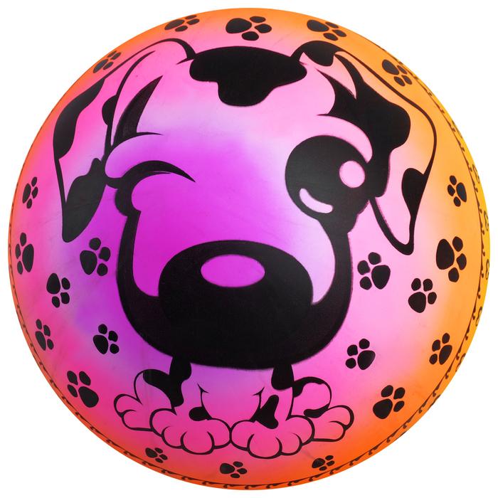 Мяч детский «Собачка», d=22 см, 70 г