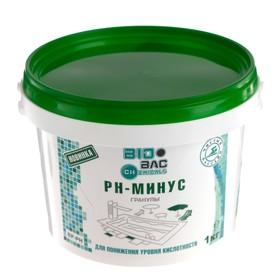 "Средство для понижения уровня кислотности ""PH-Пул минус"", гранулы, 1 кг"