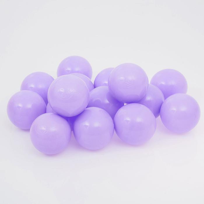 Набор шаров для сухого бассейна 500 шт, цвет: сиреневый