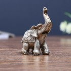 "Souvenir Polyresin ""Mini elephant-in-the-blanket-scales"" 8x6,5x3 cm"