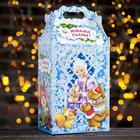 """Подарочная коробка """"Морозко"""", 20,3 х 12,3 х 41 см - фото 308276183"""
