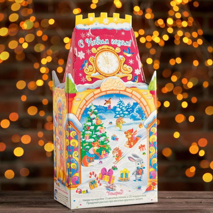 "Подарочная коробка ""Волшебник"", замок большой, 19,5 х 11,5 х 34,5 см - фото 308276189"