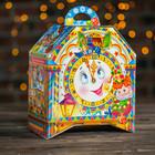 """Подарочная коробка """"Тик-Так"""", часы на ножках, 19,5 х 12 х 22 см"""