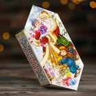 """Подарочная коробка """"Дед Мороз"""", конфета малая, с игрой, 9 х 5,8 х 12,8 см"""