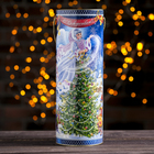 "Gift box-tube ""Christmas"" 12 x 34.5 x 1.5 cm"