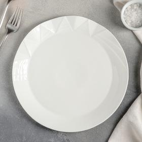 {{photo.Alt    photo.Description    'Тарелка обеденная Magistro «Идиллия», 25×2,5 см, цвет белый'}}