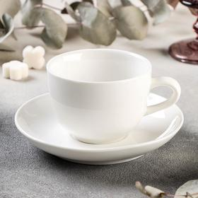 "A couple of tea ""Blanzh"": Cup 200 ml, saucer 14.5 cm"