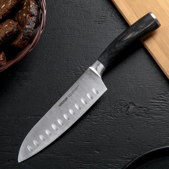 Нож кухонный сантоку Nadoba Dana, лезвие 17,5 см
