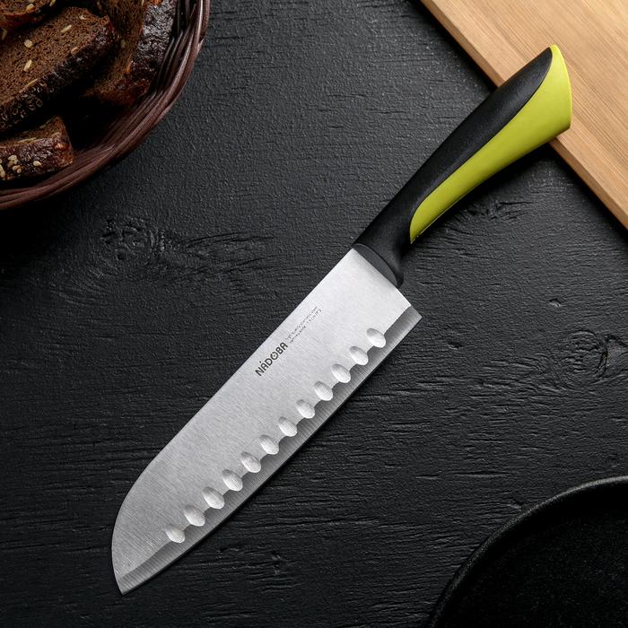 Нож кухонный сантоку Nadoba Jana, лезвие 17,5 см