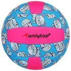 "A volleyball ONLITOP ""Kitty"" R. 2, 150 C, 2 sublayer, 18 panels, PVC, butyl camera"