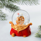 Снежный шар «Рубль»