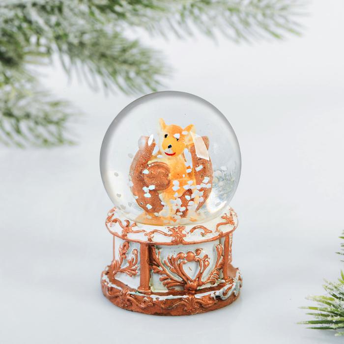 Снежный водяной шар «Подкова»