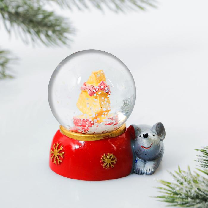 Снежный шар «Сыр»