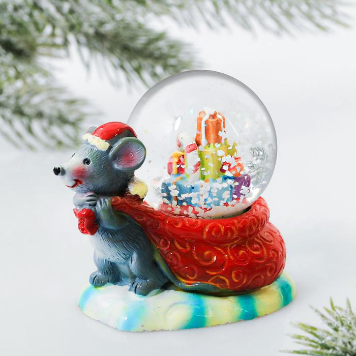Снежный шар «Мешок с подарками»