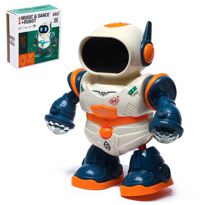 Робот «Глазастик», световые и звуковые эффекты, работает от батареек.
