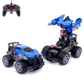 Робот-трансформер радиоуправляемый «Монстр Широн», работает от аккумулятора, цвета МИКС