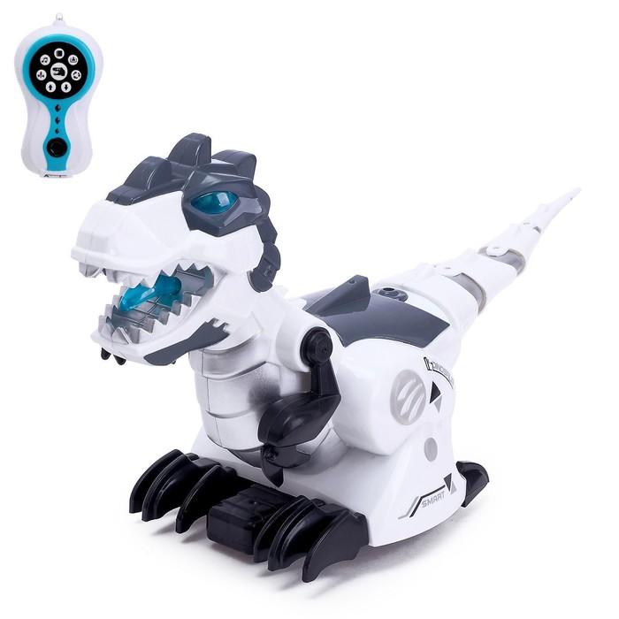 Робот радиоуправляемый «Тираннозавр», световые и звуковые эффекты, работает от батареек - фото 107024011