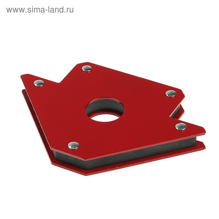 """Уголок магнитный для сварки Bohrer 71230450, M4 (4""""), 45°/90°/135°, до 23 кг"""