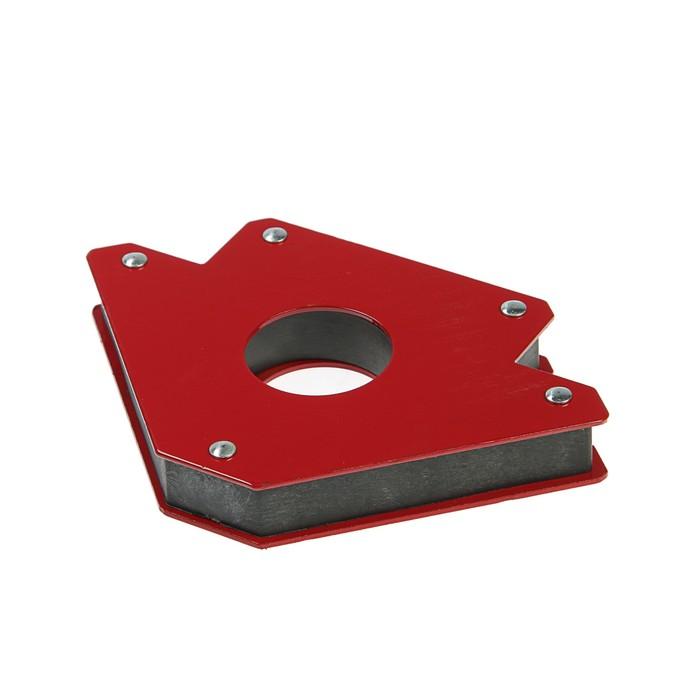 """Уголок магнитный для сварки Bohrer 71340575, M5 (5""""), 45°/90°/135°, до 34 кг - фото 798254109"""
