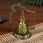 """Bell-metal Gong table """"Dragon"""" d=4.5 cm 11,2x9,5x9,5 cm"""
