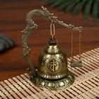 Bell-metal table Gong Buddha d=4.8 cm 11,2x9,5x9,5 cm