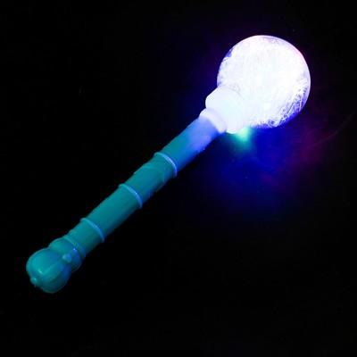 Палочка световая «Шар», с мишурой, цвета МИКС