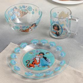 Набор посуды детский ОСЗ «Жасмин», 3 предмета