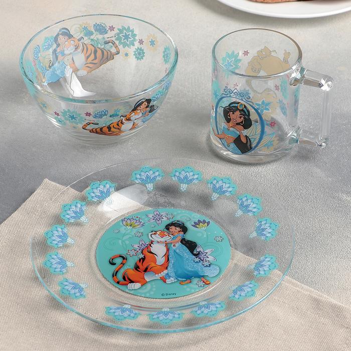 """Набор посуды детский """"Жасмин"""", 3 предмета"""