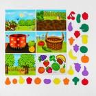 """Магнитный конструктор """"Изучаем овощи и фрукты"""" - фото 105527344"""