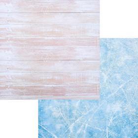 Фотофон «Доски-Лёд», 45 × 45 см, переплетный картон