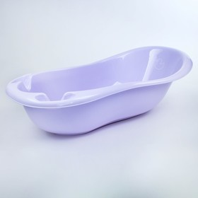 """Ванна детская """"Уточка"""" без слива 102 см, цвет фиолетовый"""