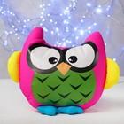 Soft toy-antistress Sova MIX color