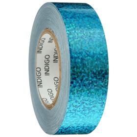 Обмотка для обруча с подкладкой CRYSTAL, 20 мм × 14 м, цвет голубой
