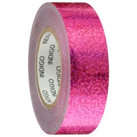 Обмотка для обруча с подкладкой CRYSTAL, 20 мм × 14 м, цвет розовый