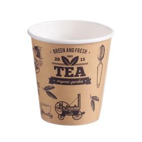 """Стакан """"Кофе тайм"""" 185 мл, диаметр 73 мм"""