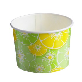 "Стакан-креманка ""Цитрус"" под мороженое и десерты, 250 мл, верхний диаметр 93 мм"