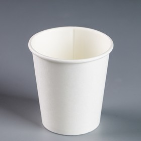 """Стакан """"Белый"""", для горячих напитков, 185 мл, диаметр 73 мм"""