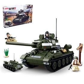 Конструктор Армия «Боевой танк», 687 деталей